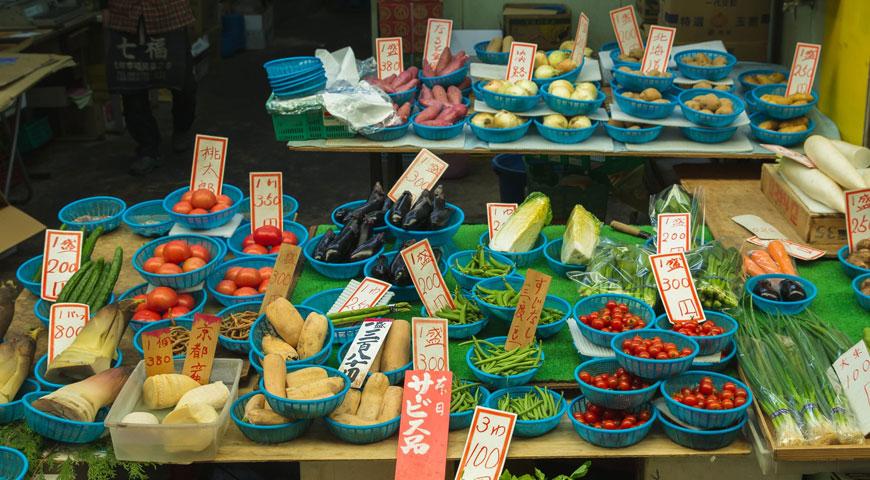 日本の野菜5選